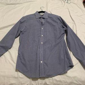 Banana Republic Long Sleeve Dress Shirt, Medium